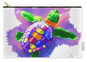 Colorful Turtle Carry-all Pouch