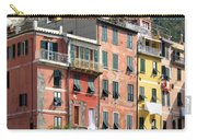 Colorful Vernazza Carry-all Pouch