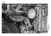 Colorful Vintage Car In Black And White Carry-all Pouch