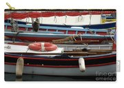 Colorful Wooden Boats Carry-all Pouch