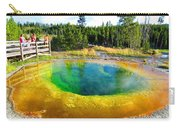 Colorful Yellowstone Carry-all Pouch