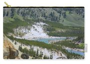 Colorful Yellowstone Valley Carry-all Pouch