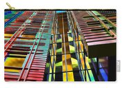 Colors In The City With Clouds Carry-all Pouch