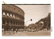 Colosseum In Sepia Carry-all Pouch