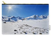 Columbia Icefield In Winter, Jasper Carry-all Pouch