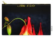 Columbine And Acts 15 16 Carry-all Pouch