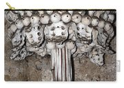 Column From Human Bones And Sku Carry-all Pouch