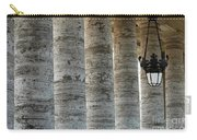 Columns And Hanging Lamp Carry-all Pouch