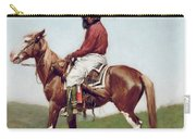 Comanche Brave Carry-all Pouch by Frederic Remington