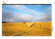 Combine Harvesting, Wheat, Ireland Carry-all Pouch