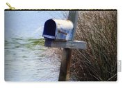 Come Rain Or Shine Or Boat Carry-all Pouch by Karen Wiles