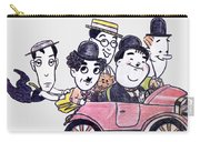 Comedians In Model T Carry-all Pouch