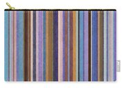 Comfortable Stripes Ll Carry-all Pouch