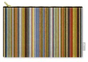 Comfortable Stripes Vlll Carry-all Pouch by Michelle Calkins