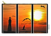 Coming Home Sunset Triptych Series Carry-all Pouch