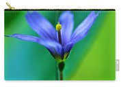 Common Blue Eyed Grass Sisyrinchium Carry-all Pouch
