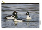 Common Goldeneye's Carry-all Pouch
