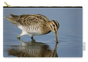 Common Snipe Gallinago Gallinago Carry-all Pouch