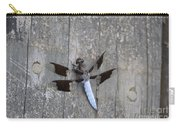 Common White Tail Dragonfly Carry-all Pouch