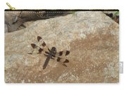 Common Whitetail Dragonfly Carry-all Pouch