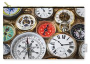 Compases And Pocket Watches  Carry-all Pouch by Garry Gay