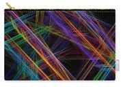 Computer Generated Lines Abstract Fractal Flame Modern Art Carry-all Pouch