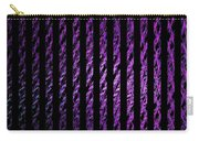 Computer Generated Magenta Abstract Fractal Flame Black Backgroud Carry-all Pouch