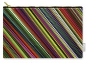 Computer Generated Stripe Abstract Fractal Flame Black Background Carry-all Pouch