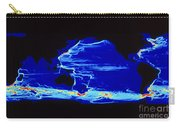 Computer Model Of Global Ocean Currents Carry-all Pouch