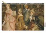 Concert At The Time Of Mozart Carry-all Pouch by Ettore Simonetti