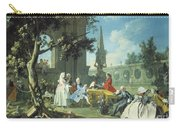 Concert In A Garden Carry-all Pouch by Filippo Falciatore