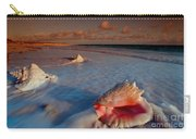 Conch Shell On Beach Carry-all Pouch