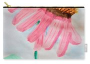 Coneflower - Watercolor Carry-all Pouch