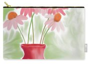 Coneflower Still Life Carry-all Pouch