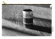 Coney Island Boardwalk In Black And White Carry-all Pouch