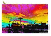 Coney Island In Neon B Flat Minor Carry-all Pouch