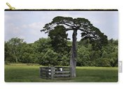 Confederate Grave Of Lafayette Meeks Appomattox Virginia Carry-all Pouch by Teresa Mucha
