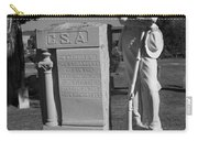 Confederate Soldier Memorial Carry-all Pouch