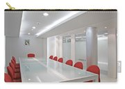 Conference Room Carry-all Pouch by Setsiri Silapasuwanchai