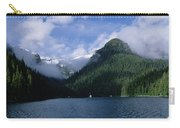 Conifer-covered Coastline Of Warm Carry-all Pouch