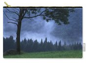 Coniferous Trees Early In The Morning Carry-all Pouch