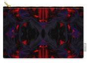 Conjoint - Crimson And Royal. Carry-all Pouch by Christopher Gaston
