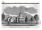 Connecticut: Church, 1836 Carry-all Pouch