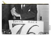 Connie Mack (1862-1956) Carry-all Pouch