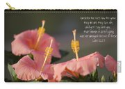 Consider The Lilies How They Grow Carry-all Pouch