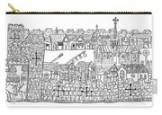 Constantinople, Procession At City Carry-all Pouch