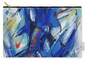 Contemporary Painting Six Carry-all Pouch