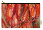 Contemporary Painting Three Carry-all Pouch