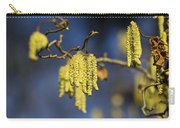 Contorted Hazel Catkins Carry-all Pouch