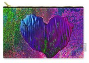 Contours Of The Heart Carry-all Pouch